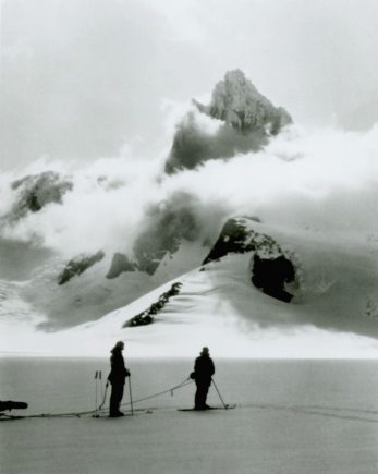 One of the many unclimbed, unnamed mountain peaks that Shipton's party sighted above the clouds of the Hielo Patagónico Norte in 1963/64.