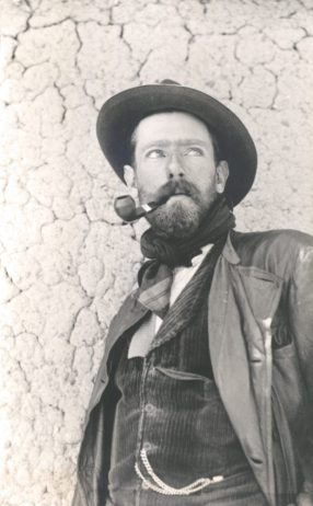 Henry Hoek (1878- 1951) at the start of his expedition into Bolivia in 1903.